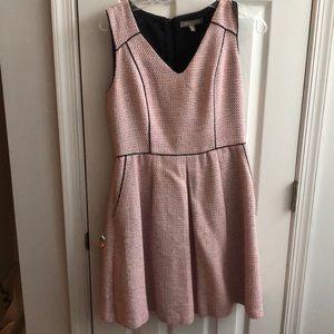 Banana Republic Pink Tweed dress